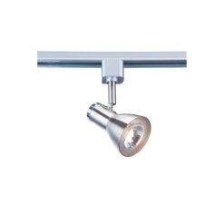 Searchlight 3709SS- Track & Spot 1lt Spotlight, Satin Silver/chrome
