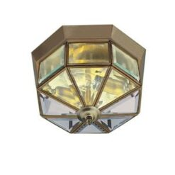 Searchlight 8235AB- Flush 2lt Flush, Gold