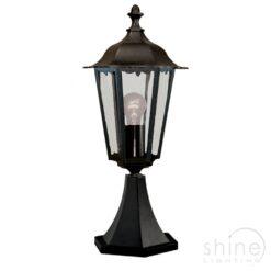 Searchlight 82503BK- Alex 1lt Outdoor, Antique Brass