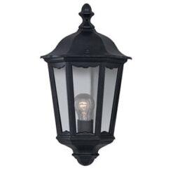Searchlight 82505BK- Alex 1lt Outdoor, Antique Brass