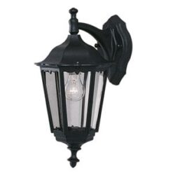 Searchlight 82531BK- Bel Aire 1lt Outdoor, Pewter