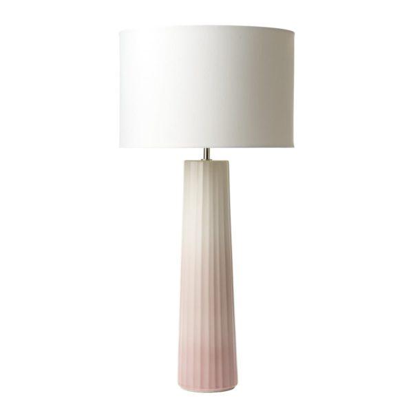 Dar ABI4203- Abilo 1lt Table Lamps, Ceramic, Pink