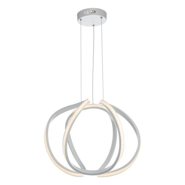 Dar ALO012- Alonsa 1lt Single Pendant, White
