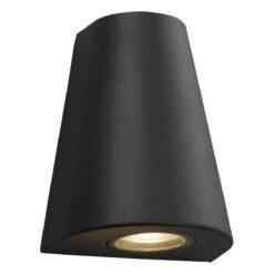 Dar ARJ3237- Arjun 2lt Wall Light, Grey