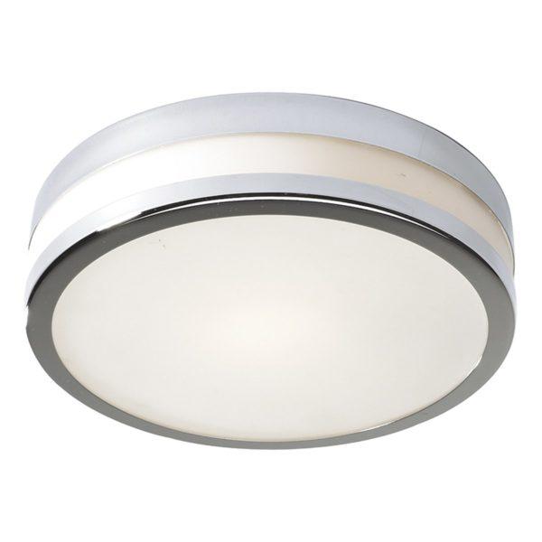Dar CYR5250- Cyro 1lt Flush, Polished Chrome, Opal Glass