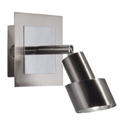 Dar FUT0746- Futura 1lt Spotlight, Polished Chrome, Satin Chrome
