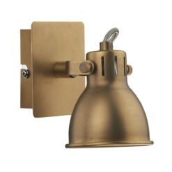 Dar IDA0775- Idaho 1lt Spotlight, Natural Brass