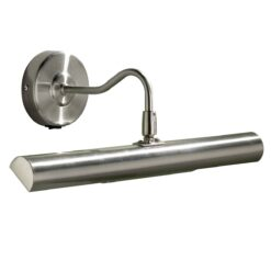 Dar ONE6746- Onedin 2lt Wall Light, Satin Chrome