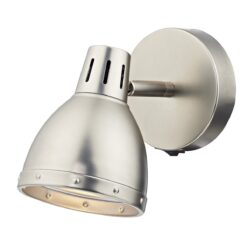 Dar OSA0761- Osaka 1lt Spotlight, Antique Chrome