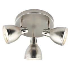 Dar OSA7661- Osaka 3lt Spotlight, Antique Chrome