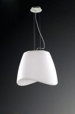 Mantra M1505- Cool 3lt Single Pendant, Matt White