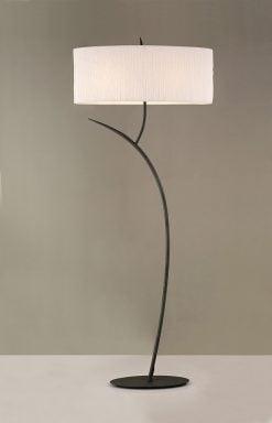 Mantra M1159- Eve 2lt Floor Lamps, Antracite