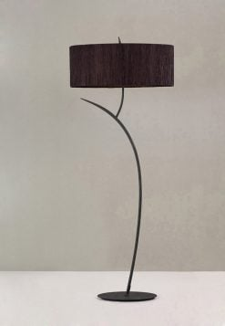 Mantra M1159/BS- Eve 2lt Floor Lamps, Antracite