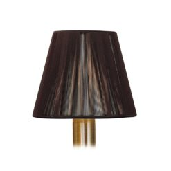 Mantra MS002- Silk String Shades lt Shade, Dark Brown