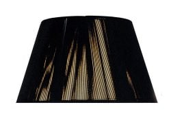Mantra MS041- Silk String Shades lt Shade, Black