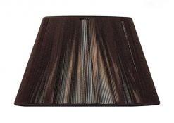 Mantra MS042- Silk String Shades lt Shade, Dark Brown