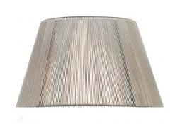 Mantra MS043- Silk String Shades lt Shade, Silver Grey