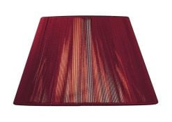 Mantra MS044- Silk String Shades lt Shade, Red Wine