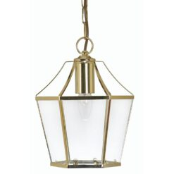 1044 PB DULVERTON PENDANT POLISHED BRASS