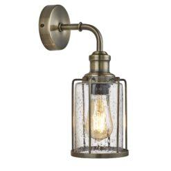 Searchlight 1261AB- Pipes 1lt Wall Light, Chrome Polished