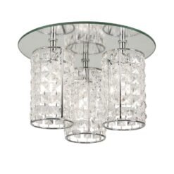 1696/3 CH - GLAMOUR CEILING LIGHT 40W G9