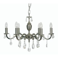 176/6 SN RISBOROUGH 6 LIGHT PENDANT
