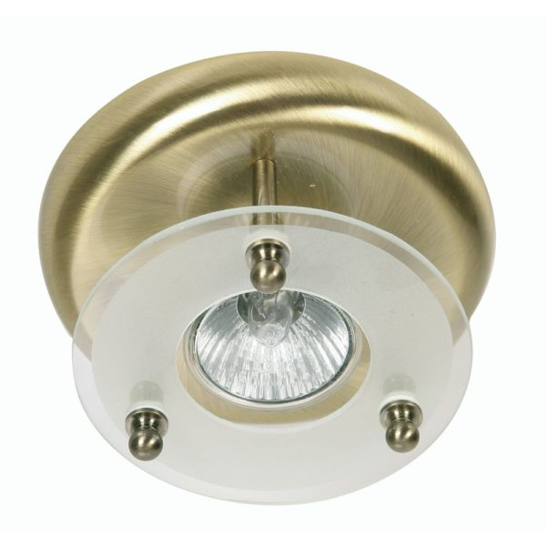 177/1 AB SURFACE DOWNLIGHT ANTIQUE BRASS