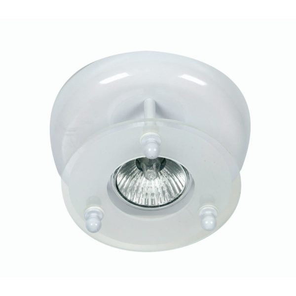 177/1 WH SURFACE DOWNLIGHT WHITE