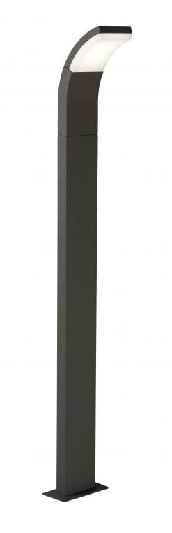 185/1000 DG - KROZ DARK GREY LED POST