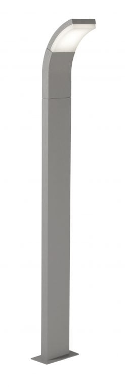 185/1000 SG - KROZ SILVER GREY LED POST