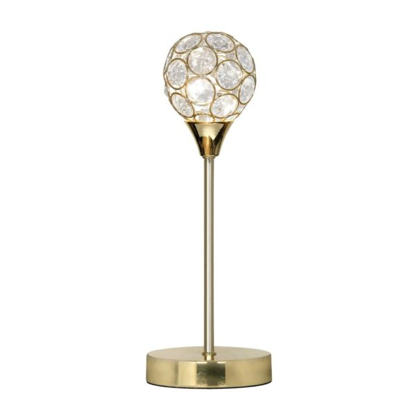 2184 TL PB - LANA BRASS TABLE LAMP