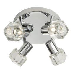 Searchlight 3764CC-LED- Triton 4lt Spotlight, Chrome Polished