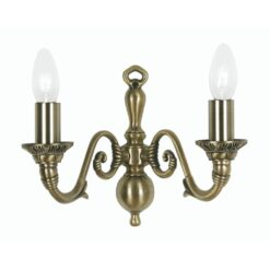 4226/2 AB AMARO 2 X 60 BC ANTIQUE BRASS