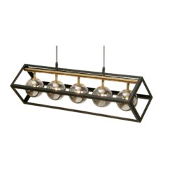 4284/5 BK TERE BLACK WITH ANTIQUE GOLD