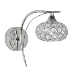 4341/1 CH TOULON CHROME WALL LIGHT