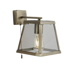 Searchlight 4611AB- Voyager 1lt Wall Light, Chrome Polished