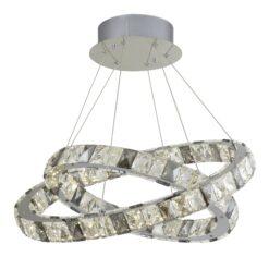 Searchlight 4812-2CC- Optica lt Multi Arm Pendant, Chrome Polished