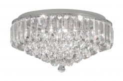 6104/8 CH CHROME 8 LIGHT FLUSH LIENZ