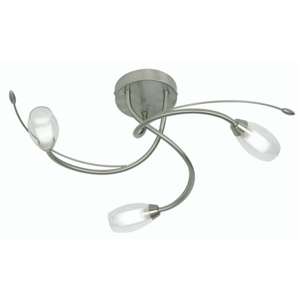 6203/3 AC PANDORA ANTIQUE CHROME C/LIGHT