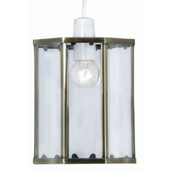 733 AB EASY FIT LANTERN ANTIQUE BRASS