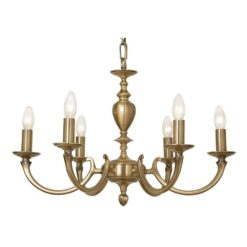 173/6 GO ISABELLA 6 LIGHT PENDANT
