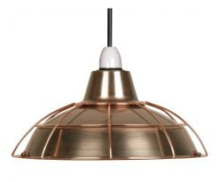 7415 CU - ELGG COPPER SHADE WITH COPPER
