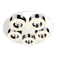 Searchlight 8015-5CC- Polo 5lt Flush, Cream