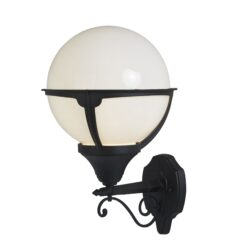 Searchlight 8739- Orb Lanterns 1lt Outdoor, Chrome Polished