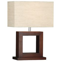 Searchlight 9000- Calven 1lt Table Lamps, Antique Brass