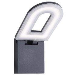Searchlight 0583GY- Manhattan lt Outdoor, Die Cast Aluminium