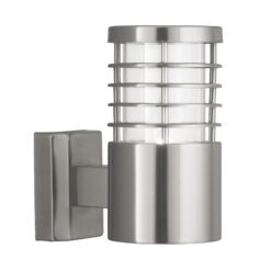 Searchlight 1555SS- Louvre 1lt Outdoor, Stainless Steel