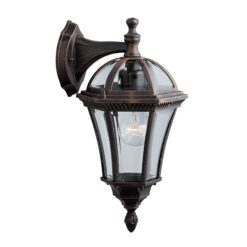 Searchlight 1563- Capri 1lt Outdoor, Die Cast Aluminium
