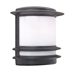 Searchlight 1812- Stroud 1lt Outdoor, Die Cast Aluminium
