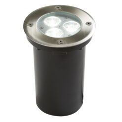 Searchlight 2505WH- LED Outdoor 3lt Outdoor, Stainless Steel